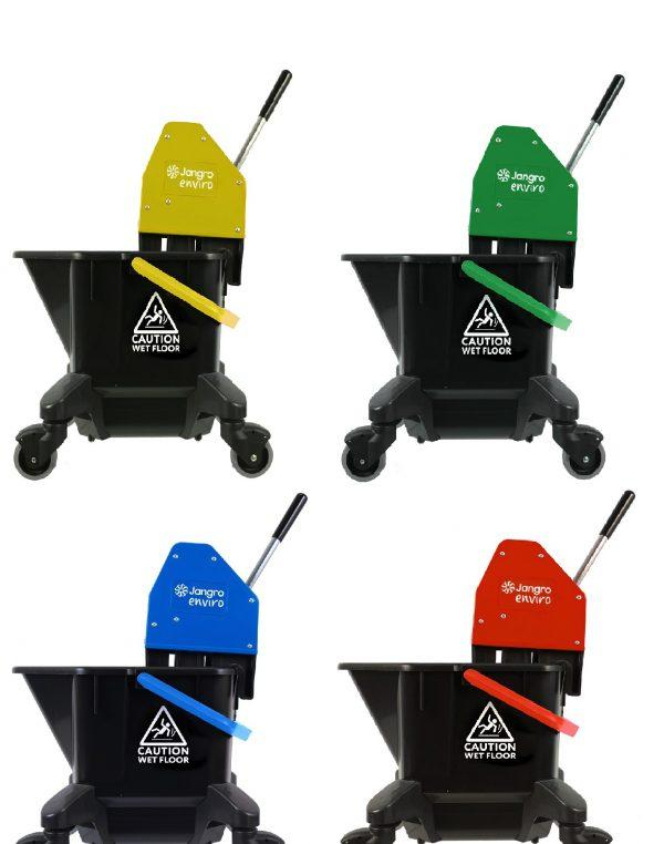 Recycled Plastic Kentucky Mop Bucket and Wringer