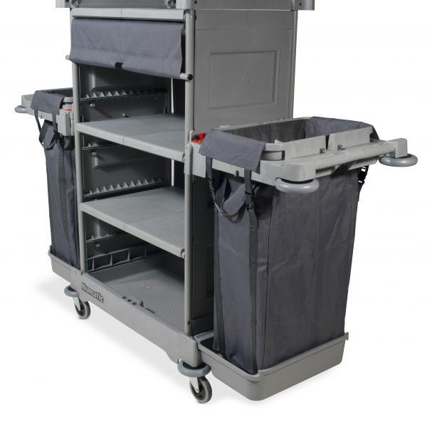 Numatic NKT Tall Housekeeping Trolley with 3 Shelves