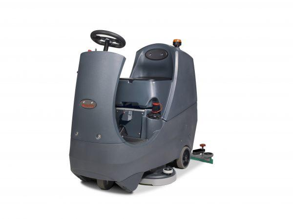 CRG8072/120T Ride-On Scrubber Dryer 72cm Cleaning Width 80L Capacity 3 Hr Run Time