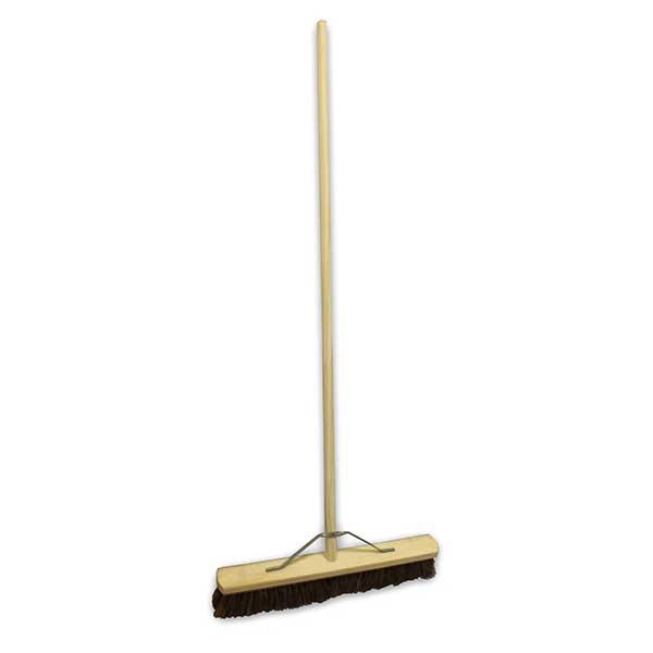 """24"""" Wooden Broom with Wooden Handle"""