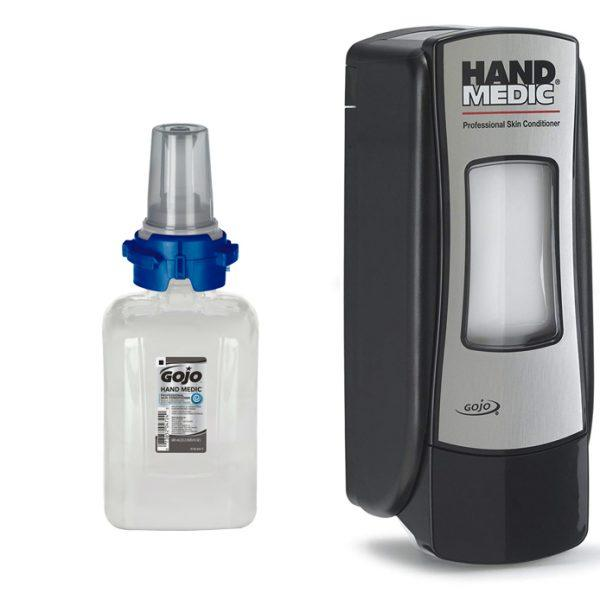 Hand Medic ADX-7 Professional Skin Conditioner 4x 685ml with FREE Dispenser
