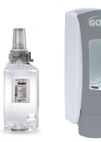 GOJO ADX-12 Mild Antimicrobial Foam Handwash 3x 1250ml with FREE Dispenser