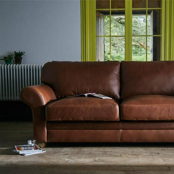My leather sofa is dirty and I don't know what to use to clean it