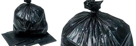 COME AND GET YOUR BLACK BIN BAGS