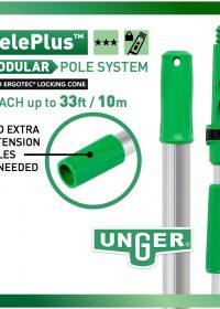 Unger TelePlus Telescopic Pole 2m Sections