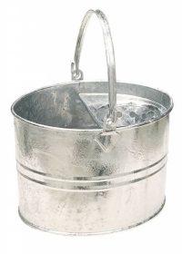 Galvanised Socket Mop Bucket - Plastic Free
