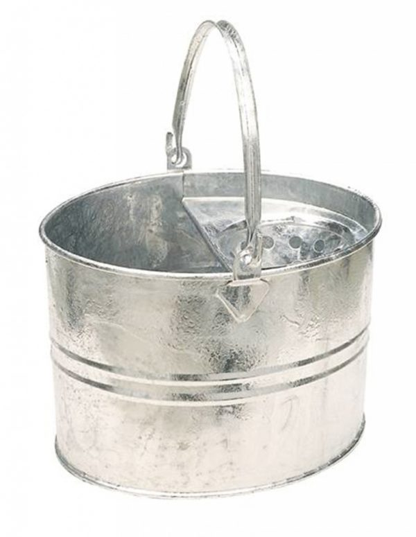 Galvanised Socket Mop Bucket