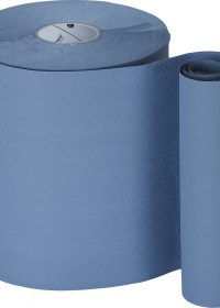 Bay West 6 x Rolls Blue Hand Towel