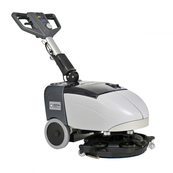 Nilfisk SC351 Battery Scrubber Dryer with Board & Brush