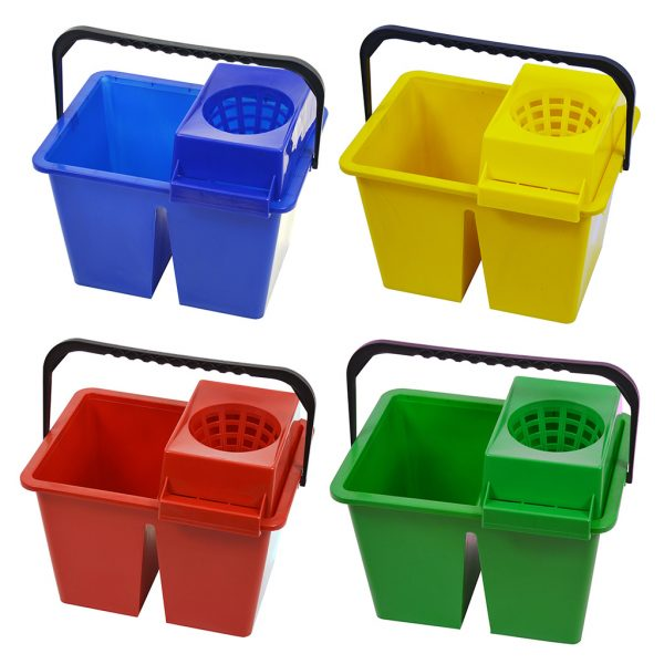 SYR C10 Double Dolly Mop Bucket