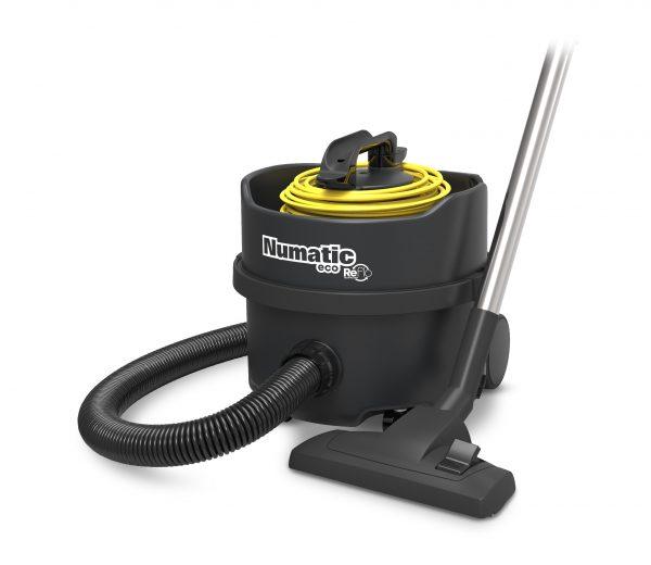 ERP180 Recycled Black Plastic Vacuum