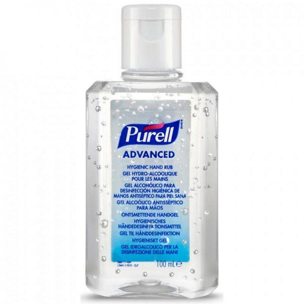 Purell 100ml Flip Top Alcohol Hand Sanitiser