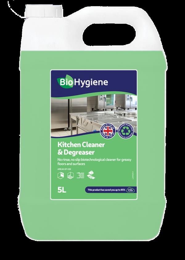 BioHygiene Kitchen Cleaner Degreaser 5L