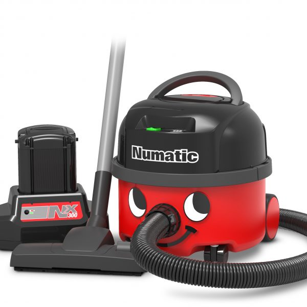 Numatic NBV190NX Battery Henry Hoover - with 1 Fast Charge Battery