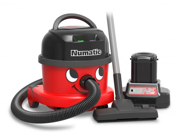 front view of Numatic NBV240NX Vacuum Cleaner with battery out