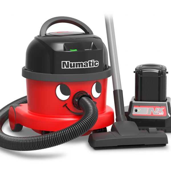 Numatic NBV240NX Battery Hoover - with 1 Fast Charge Battery