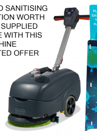 Numatic TT1840G Mains Driven Scrubber Dryer 240v