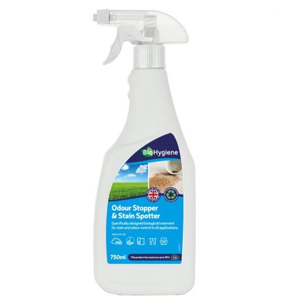 750ml RTU Bio Hygiene Odour & Stain Spotter