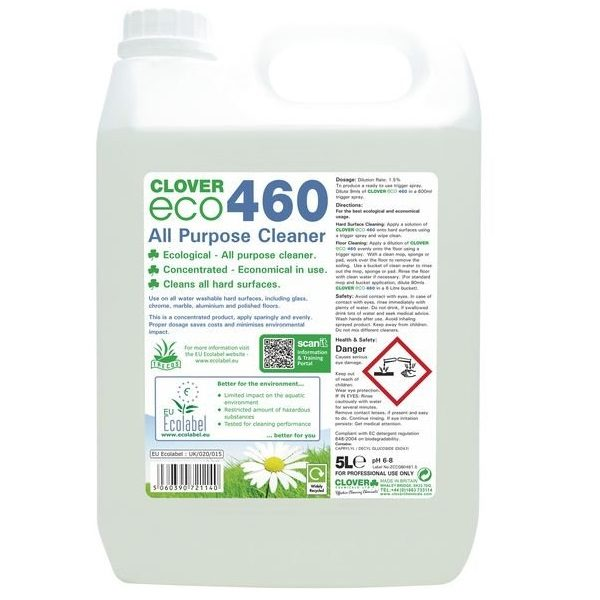 5L Clover Eco 460 All Purpose Cleaner