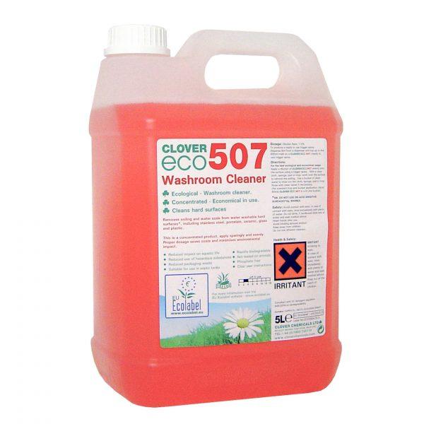 5L Clover Eco 507 Washroom Cleaner