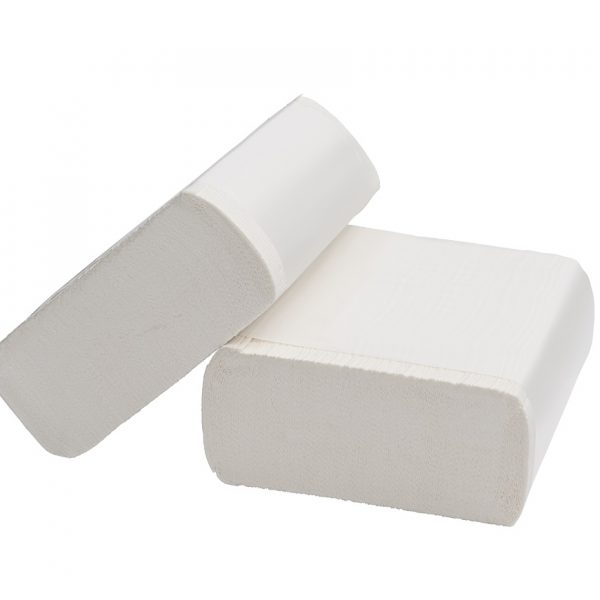 Compact Hand Towel Recycled 2ply White