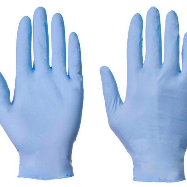 Box of 100 Powder Free Nitrile Gloves